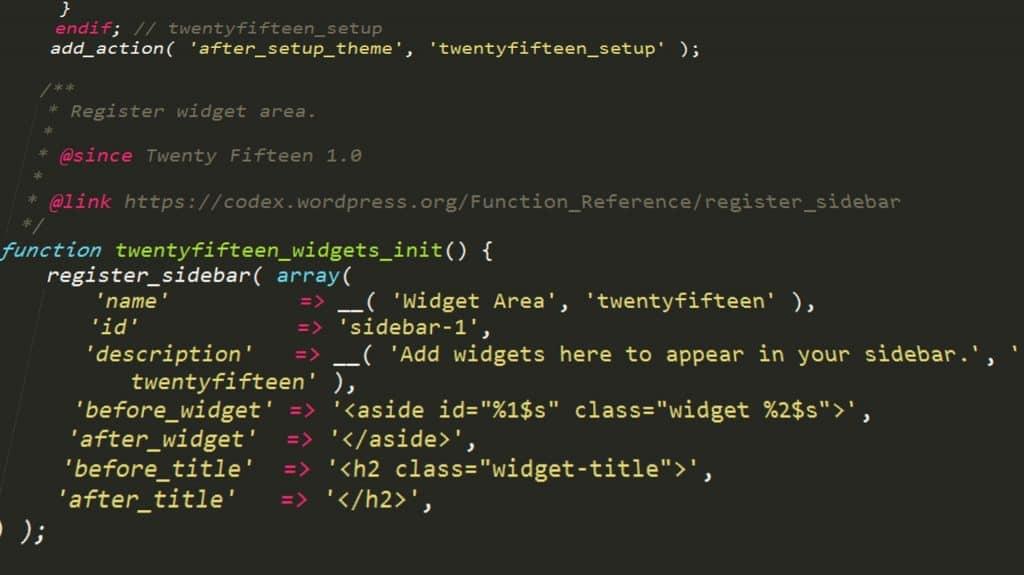 فانکشنهای وردپرس WordPress PHP functions